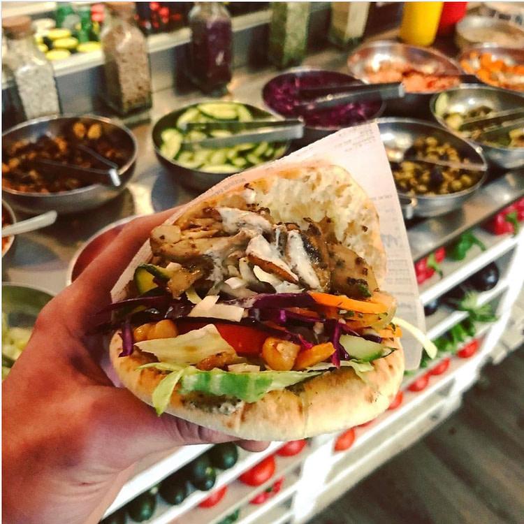 pita shawarma lyon